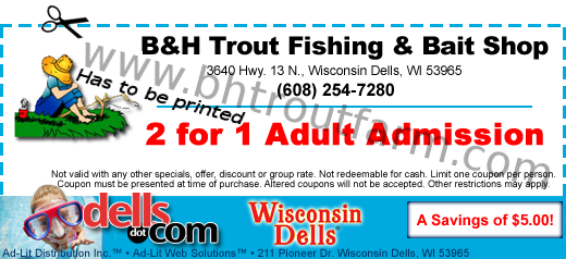 B&H Trout Fishing and Bait Shop