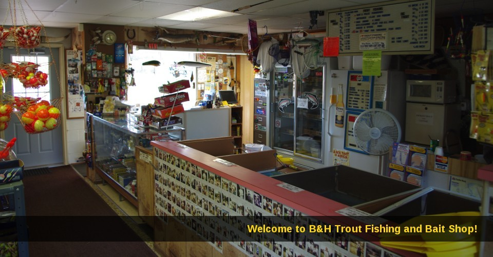 Home B Amp H Trout Fishing And Bait Shop